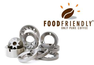 FOOD FRIENDLY® grinding burrs: coffee best friends