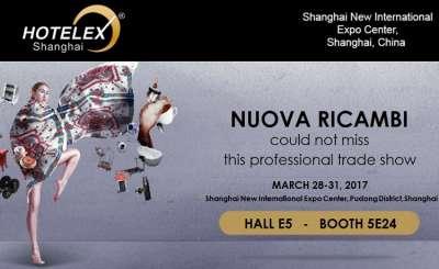 Nuova Ricambi sempre presente nel mercato asiatico: prossimo appuntamento Hotelex di Shanghai