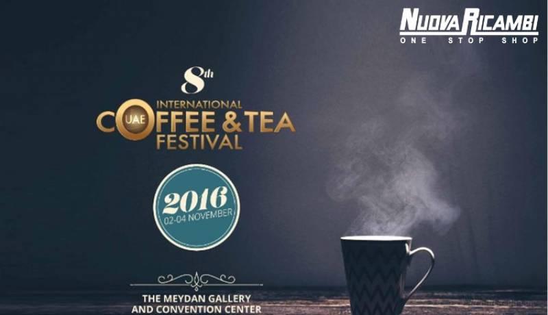 Erika Mondadori a Dubai per l'International Coffee and Tea Festival 2016