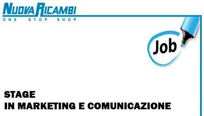 stiamo cercando: stagista in marketing e comunicazione