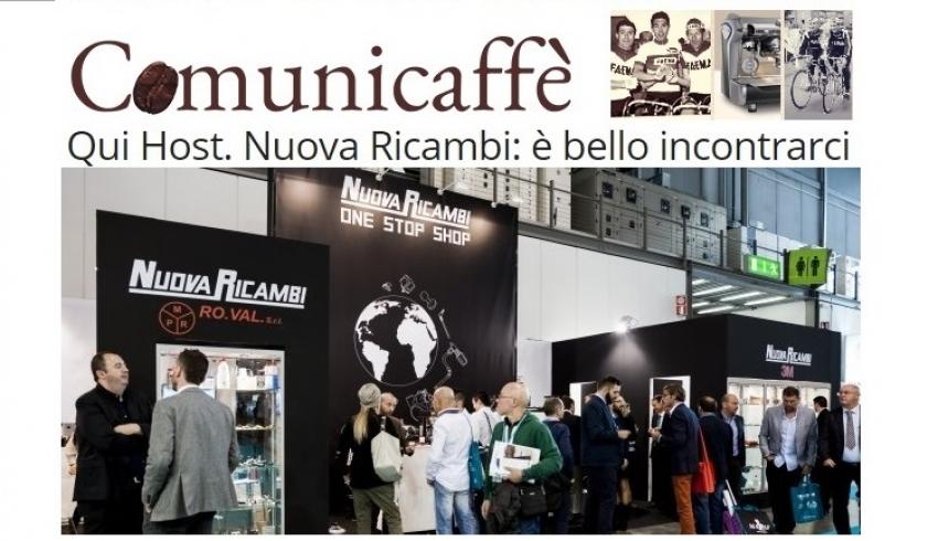Nuova Ricambi ad Host 2015: è stato bellissimo incontrarvi!
