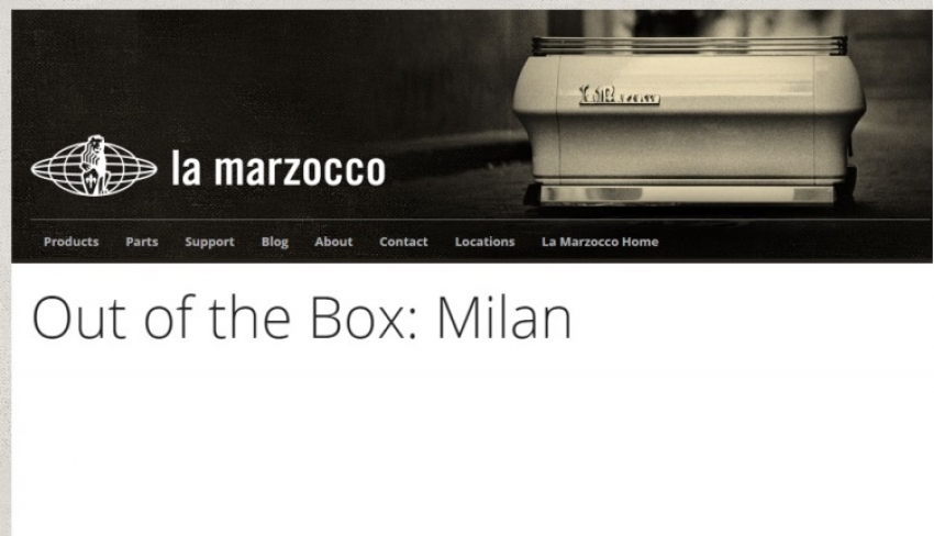 La Marzocco: out of the box 2011