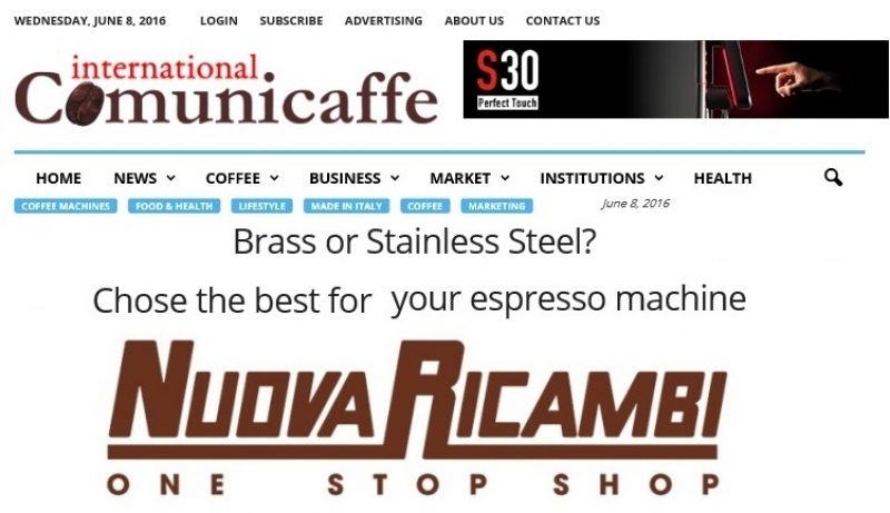 Brass or Stainless Steel? Chose the best for your espresso machine