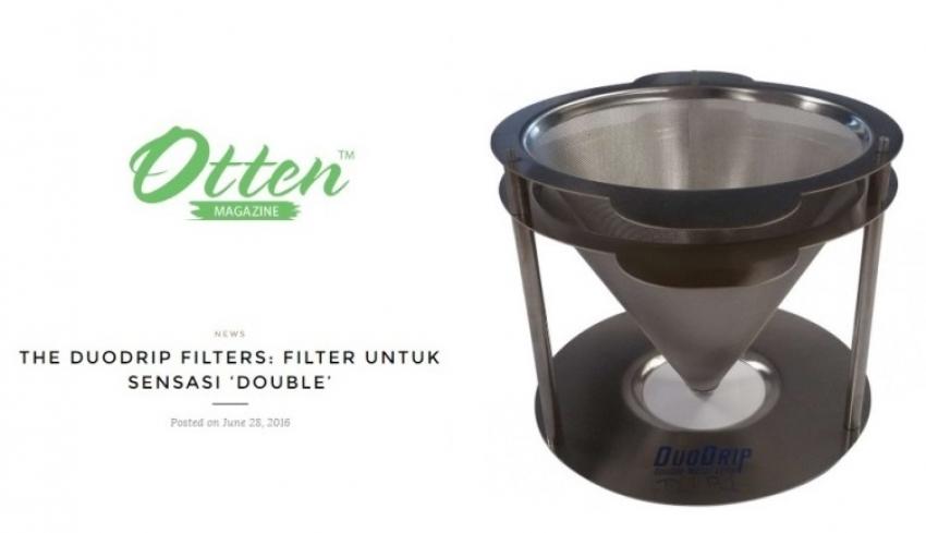 DuoDrip: il filtro per una doppia sensazione (in indonesiano)