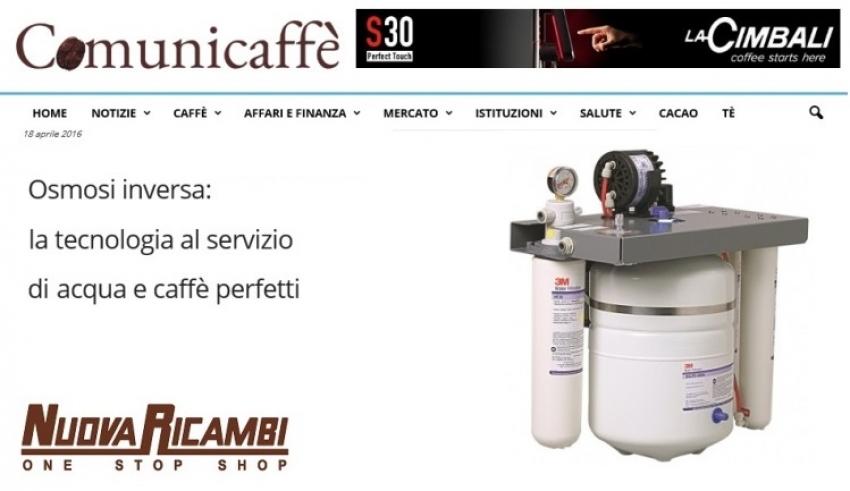 Osmosi inversa: la tecnologia al servizio di acqua e caffè perfetti