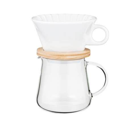 COFFEE POT & DRIPPER SET 600ml