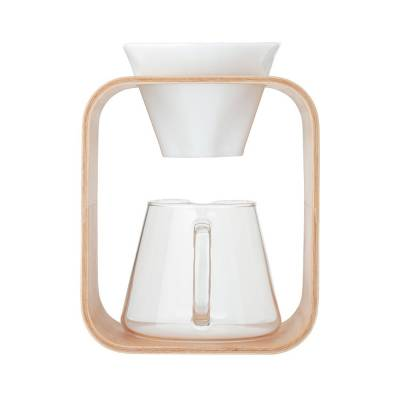 COFFEE POT & DRIPPER SET (BARAFU) 600ml