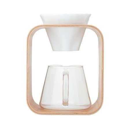COFFEE POT & DRIPPER SET (BARAFU) 600ml