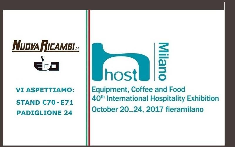 NuovaRicambi a Host 2017