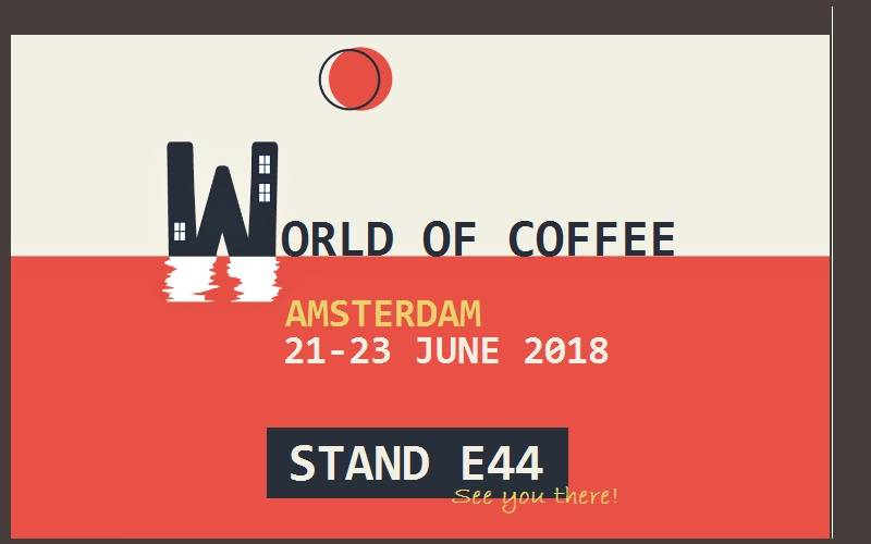 World of Coffee: Come to visit us @ stand E44