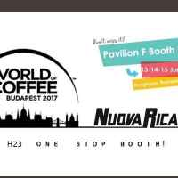 World Of Coffee 2017: Nuova Ricambi os espera a Budapest