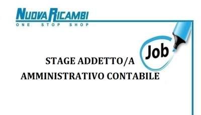 Stage Addetto/a ufficio amministrativo-contabile