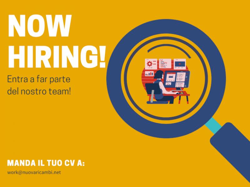 Ampliamento team Nuova Ricambi: Sei un IT specialist? Mandaci il tuo CV!