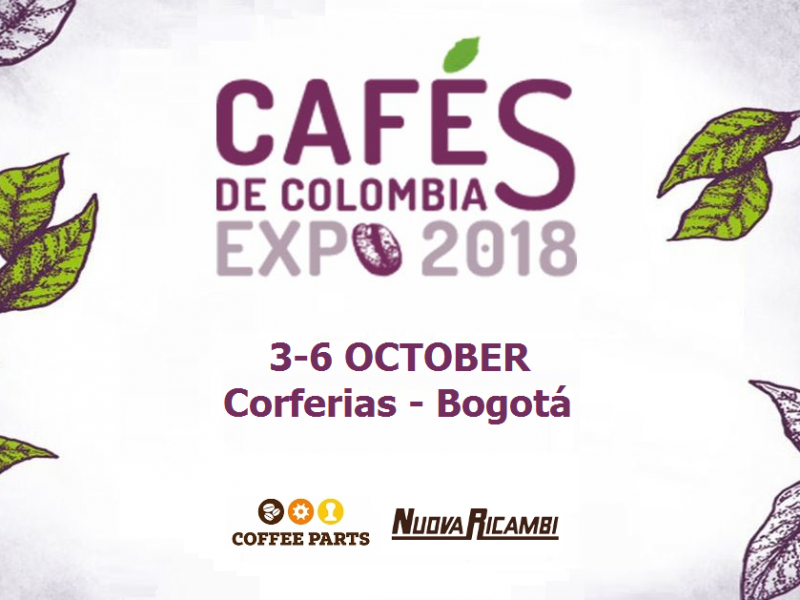 Coffee Parts and Nuova Ricambi at Cafés de Colombia Expo