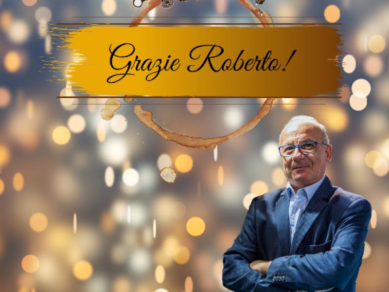 Auguri di buon pensionamento Roberto.