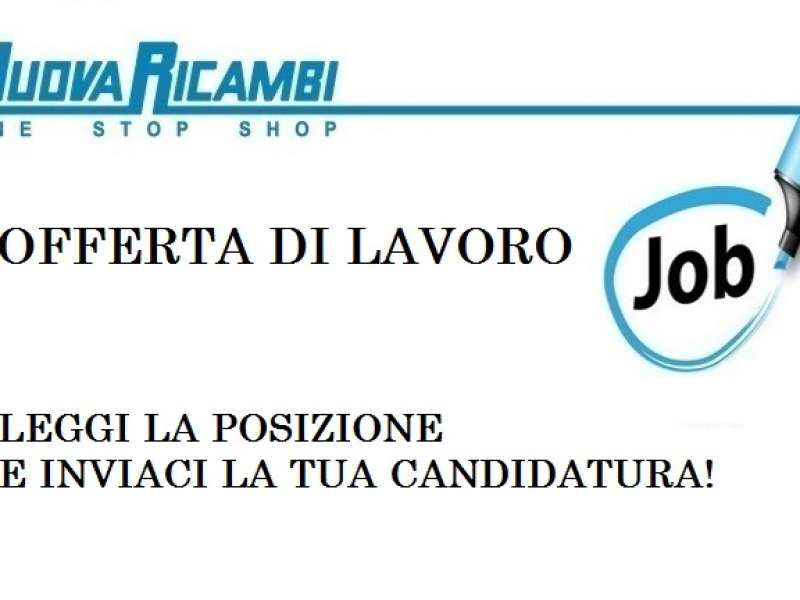 Offerta di lavoro: Stage Marketing – Graphic designer