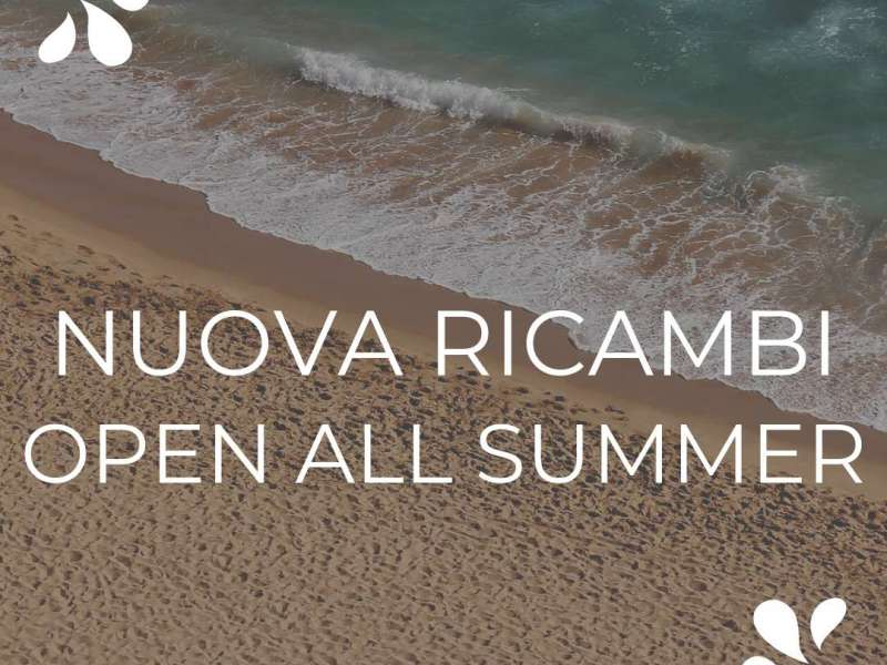 Nuova Ricambi remain open all summer