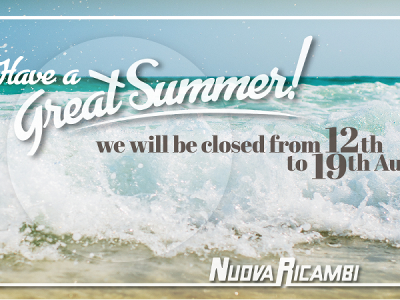 We wish you a great summer