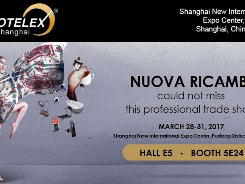 Nuova Ricambi zeigt weiterhin Präsenz auf dem asiatischen Markt: nächster Termin Hotelex in Shanghai