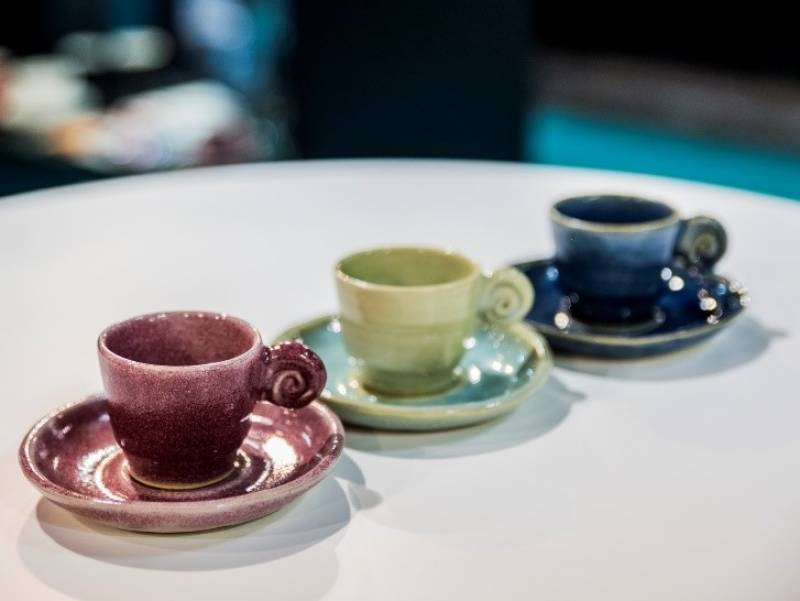 Set Uzu: una tazzina da caffè unica