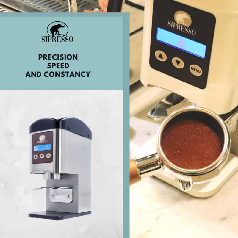 Automation in coffee tamping: Sipresso