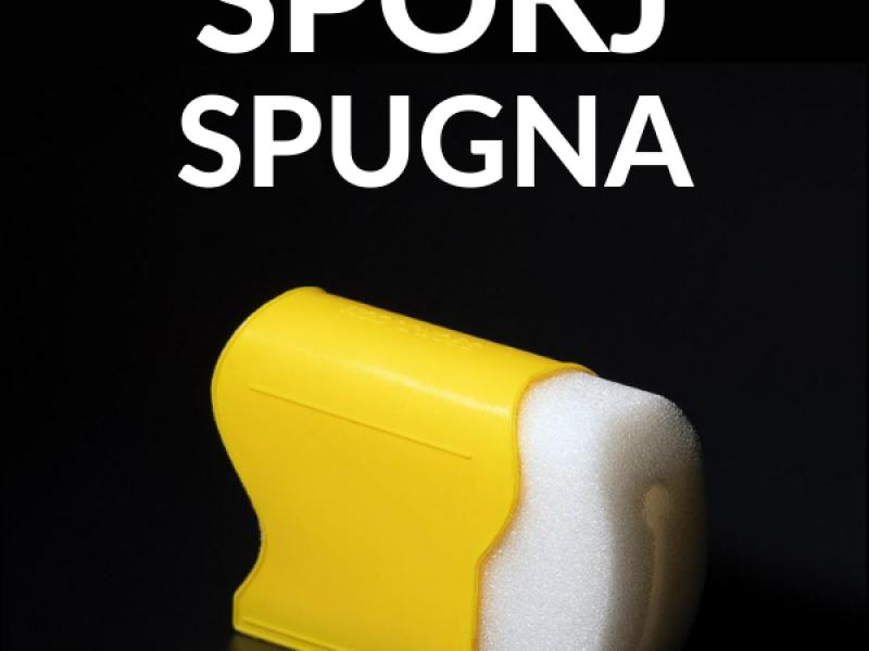 Spokj Spugna a supporto del barista