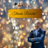 Best wishes on your retirement Roberto!
