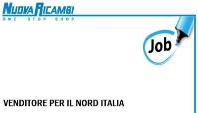 stiamo cercando: Venditore per il nord Italia: