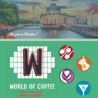 World Of Coffee: to share a coffee moment with our customers