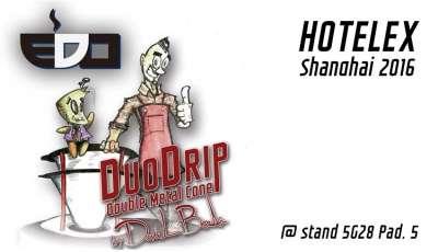 Nuova Ricambi a Shanghai presenta il DuoDrip, il Double Metal Cone ideato da Davide Berti