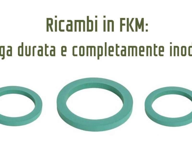 FKM: la gomma scelta da Nuova ricambi per una maggiore durata e senza odore