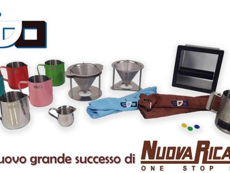 La collezione di Coffee Tools marchiata EDO Barista: l'ultimo grande successo di Nuova Ricambi
