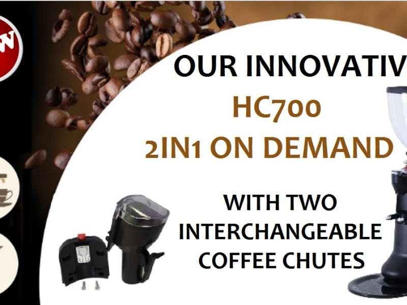 Mühle HC700 mit Option 2 in 1!