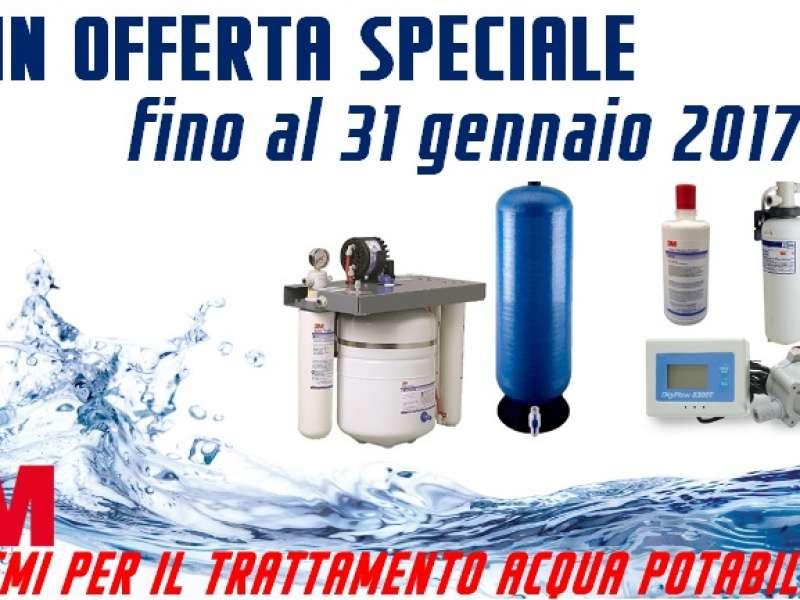 Trattamento per acqua potabile: un'offerta imperdibile solo per i clienti Nuova Ricambi!