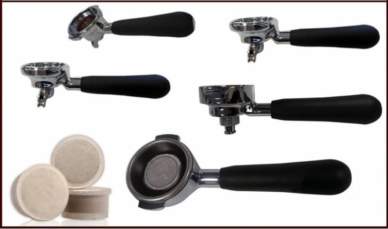 Portafiltri per capsule: Nuova Ricambi aumenta la scelta dei modelli