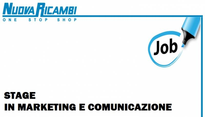 stiamo cercando: stagista in marketing e comunicazione