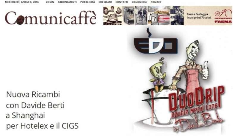 Nuova Ricambi con Davide Berti a Shanghai per Hotelex e il CIGS