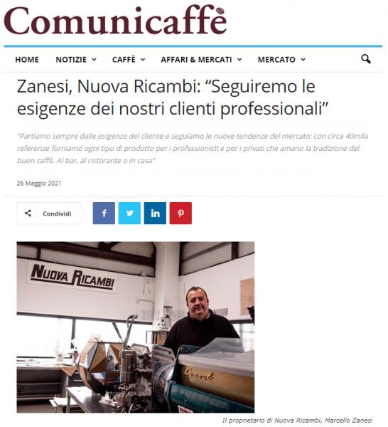 """Zanesi, Nuova Ricambi: """"Seguiremo le esigenze dei nostri clienti professionali"""""""
