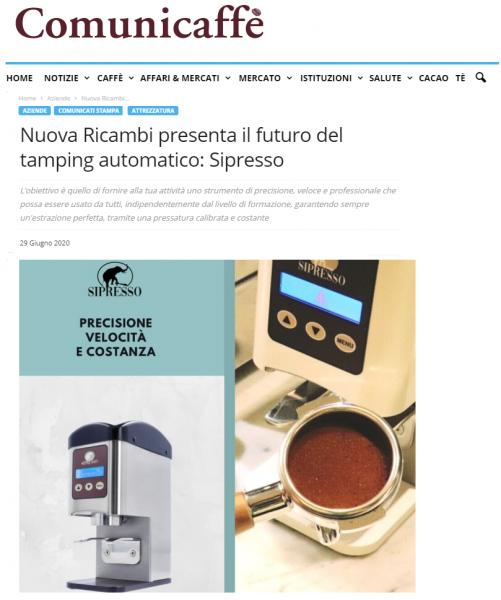 Nuova Ricambi presenta il futuro del tamping automatico: Sipresso
