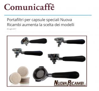 Portafiltri per capsule speciali Nuova Ricambi aumenta la scelta dei modelli