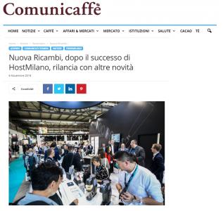 Nuova Ricambi, dopo il successo di Host Milano, rilancia con altre novità