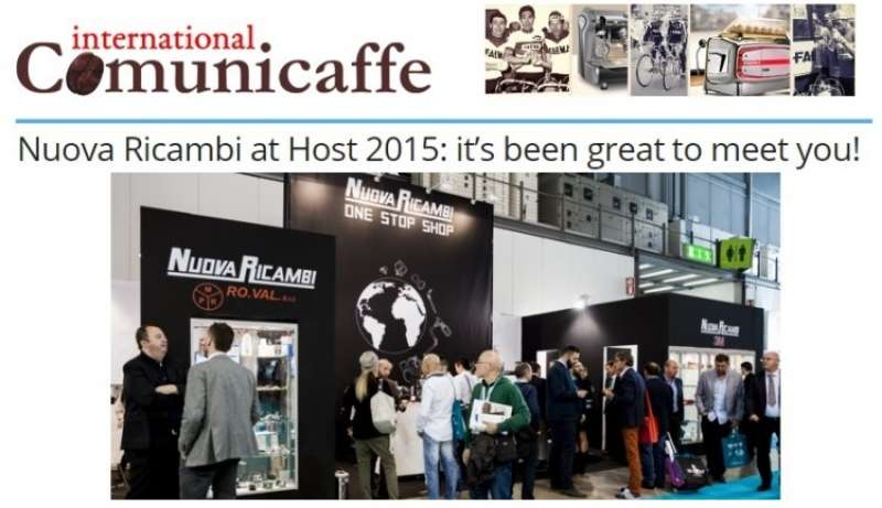 Nuova Ricambi at Host 2015: it's been great to meet you!