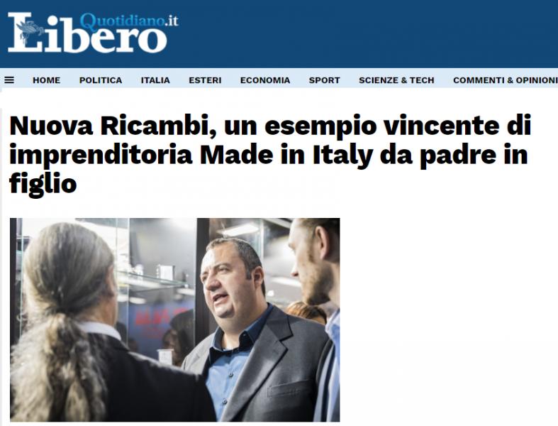 Nuova Ricambi, un esempio vincente di imprenditoria Made in Italy da padre in figlio