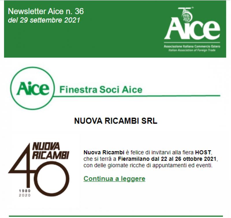 Un invito all'evento più atteso del 2021: HOST Milano.