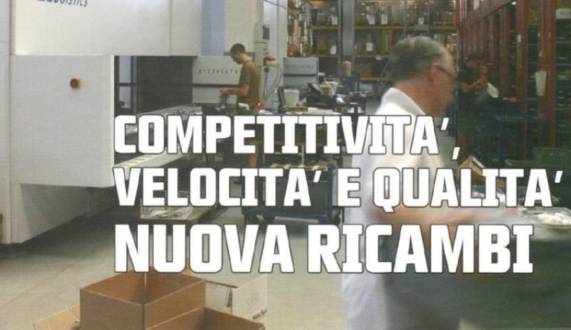 competitività, velocità e qualità: Nuova Ricambi