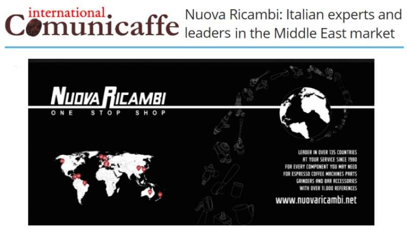 Nuova Ricambi: Italian experts and leaders in the Middle East market