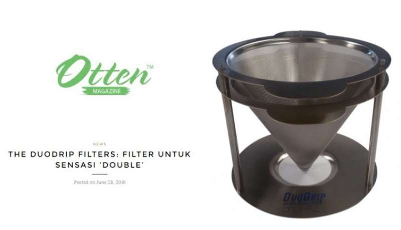 DuoDrip: the filter for a double sensation (indonesian)