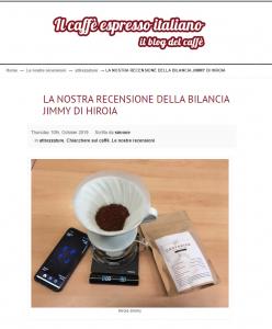 LA NOSTRA RECENSIONE DELLA BILANCIA JIMMY DI HIROIA
