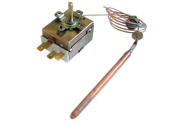 ADJUSTABLE SINGLE-PHASE THERMOSTAT 90°C