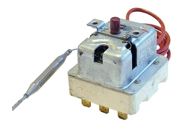 SAFETY THREE-PHASE THERMOSTAT 107°C